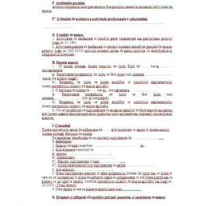contract de muncă în casă