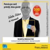 Banca Romaneasca ofera premii in valoare totala de 14.250 de lei clientilor care detin pachetul Pensia Activa